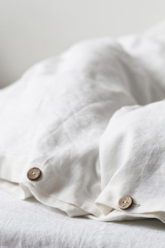 White Stone Washed Dekbedovertrek  1 persoons inclusief kussensloop