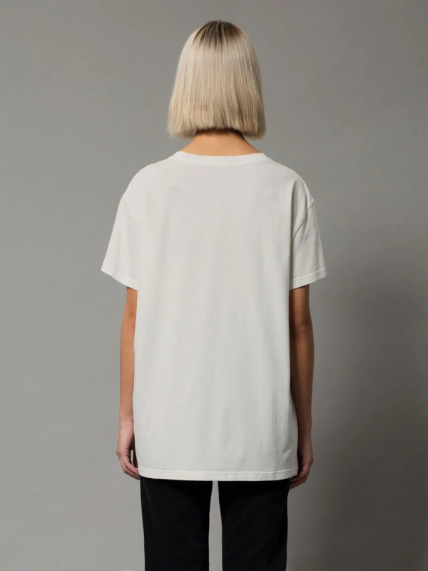 Nudie Jeans Tina Oversized Tee Offwhite