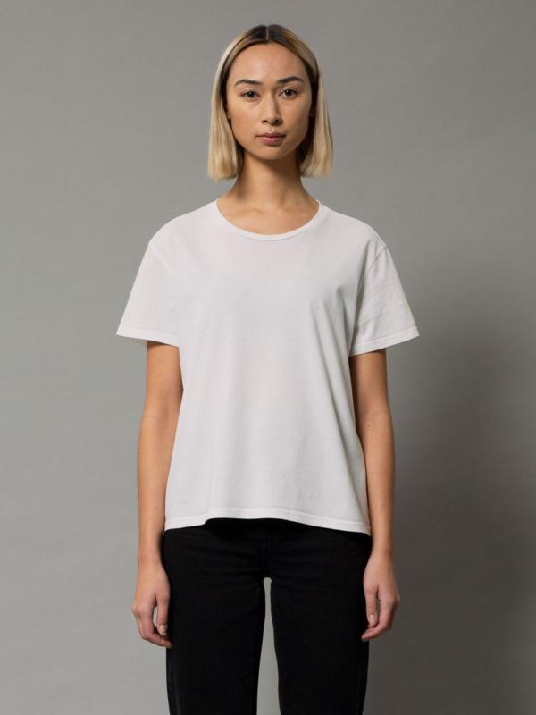 Nudie Jeans Lisa Tee Off White