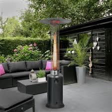 terraskachel met grote vlam: flame heater