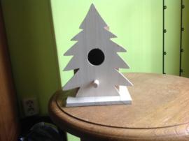 Vogelhuisje kerstboom