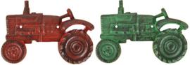 Fles opener/flessenopener tractor van gietijzer