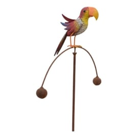 Tuinsteker balans vogeltje