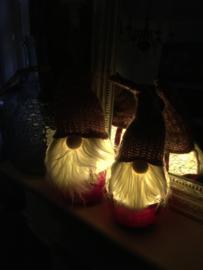 Baardmannen met lichtjes