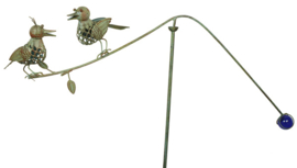 Tuinsteker  vogels balans