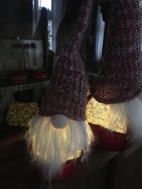Baardman of kerstman met led groot