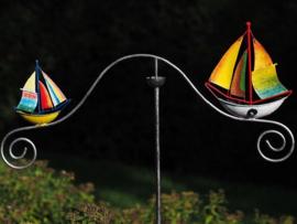 Tuinsteker balans zeilboot