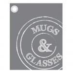 Theedoek 'muggs & glasses'