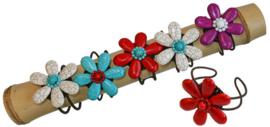 Armband met grote  bloem