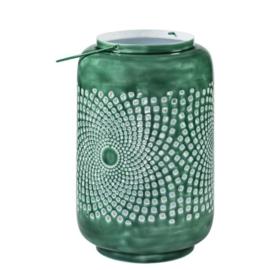 Windlicht lantaarn mint groen