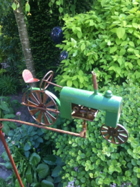 Tuinsteker balans tractor groen