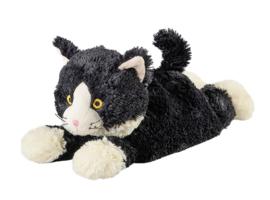 Liggende kat  (Beddy Bear magnetronknuffel)