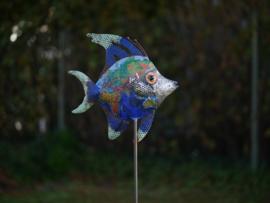 Tuinsteker wereld vis