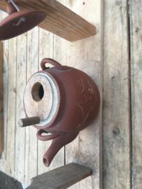 Vogel-/voederhuis  theepot
