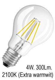 LED lamp warm wit 2100k
