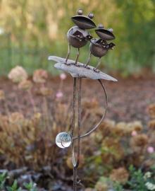 Tuinsteker kikker
