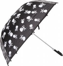 Kinder paraplu piraat (met doodskop)