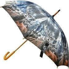 Paraplu winter hert