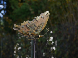 Tuinsteker vlinder