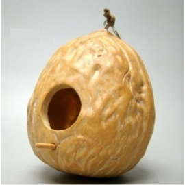 Vogelhuis walnoot