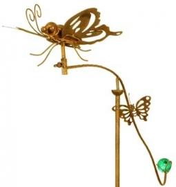 Tuinsteker balans vlinders