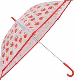 Kinder paraplu met aardbei