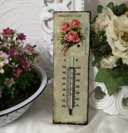 Thermometer roos 25cm