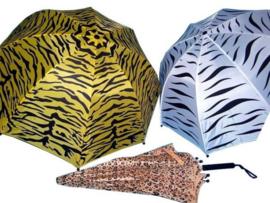 Kinder paraplu wilde dieren