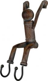 Haak acrobatisch poppetje