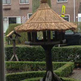 Vogelhuis/voederhuis struis maat XXL