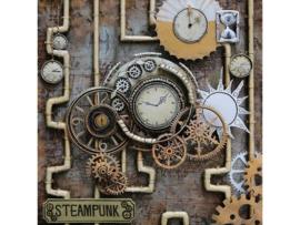 STEAMpunk, schilderij van metaal