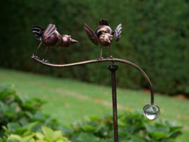 Windspel met 2 vogels