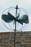 Tuinsteker wind sculpture