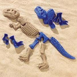 Dino maken met zand