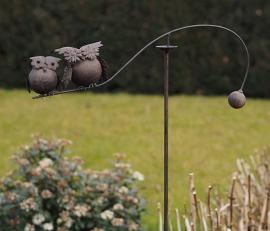 Tuinsteker balans uilen
