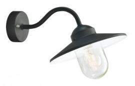 Selva stal lamp zwart