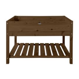 Kweektafel bruin hout