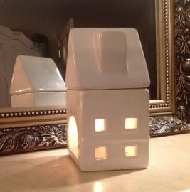 Geurbrander 'huis' wit