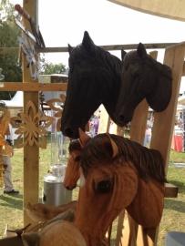 Paardenhoofd 31x16x22cm