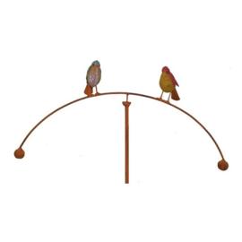 Tuinsteker balans vogeltjes