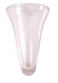 Los glas  voor regenmeter