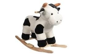 Hobbel koe met geluid