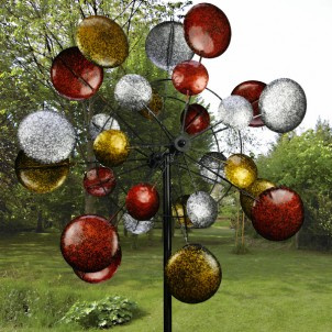 Sculpture windspel   'zonnestelsel'