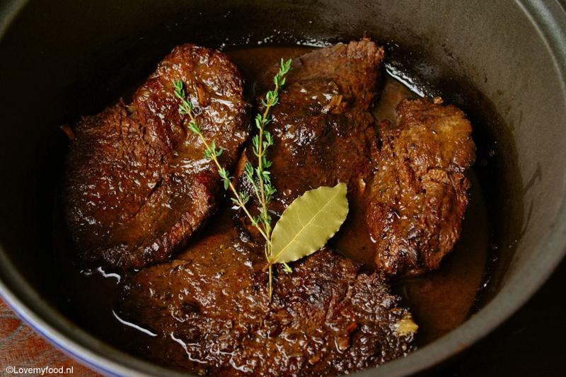 Draadjesvlees ±  250 gr