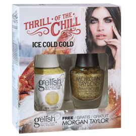 TOAK Ice Cold Gold | Gelish & FREE Morgan Taylor