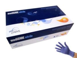 Nitrile CARE Handschoenen M