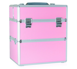 Koffer roze M