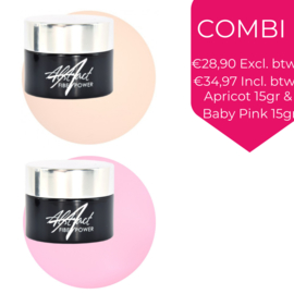 SET Apricot & Baby Pink 15gr | Abstract