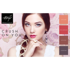 Crush On You Collection | Abstract Brush N' Color
