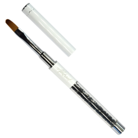 #8 Oval Gel Brush Abstract Deluxe